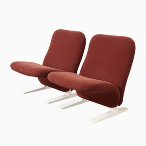 Mid-Century Model F780 Concorde Lounge Chairs by Pierre Paulin for Artifort, Set of 2