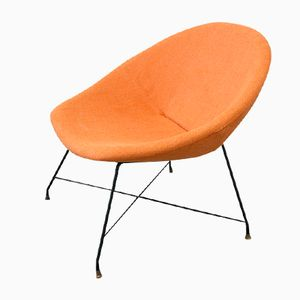 Vintage Lounge Chair by Augusto Bozzi for Saporiti Italy