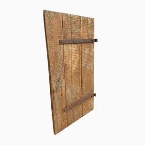 Antike französische Barn Tür aus Eiche