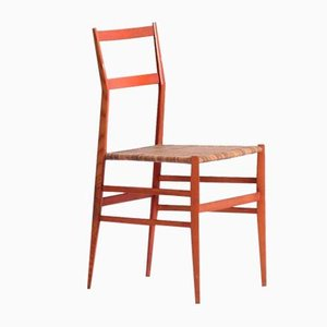 Dining Chairs by Gio Ponti for Cassina, 1950s, Set of 4