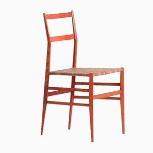 Esszimmerstühle von Gio Ponti für Cassina, 1950er, 4er Set
