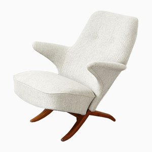 Mid-Century Penguin Lounge Chair by Theo Ruth for Artifort, 1950s