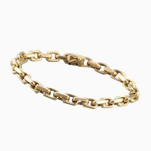 Bracelet Chaîne en Or 14 Carats, 1980s