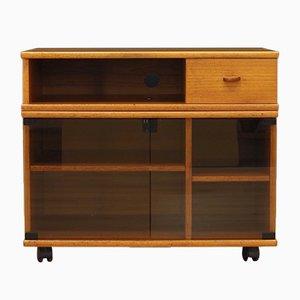 Mueble para la televisión danés Mid-Century de teca, años 60