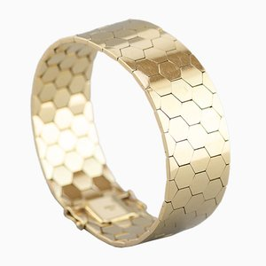 Danish 14 Karat Gold Bracelet, 1960s