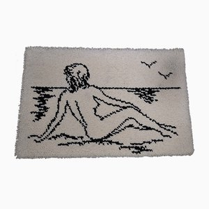 Woman on the Beach Tapestry, 1960s