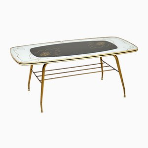 Vintage Brass Coffee Table, 1960s
