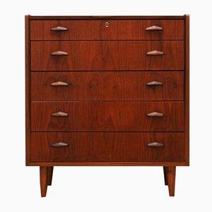 Vintage Danish Teak Veneer Dresser