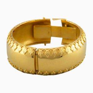 Bracciale in oro giallo 18 carati, anni '60