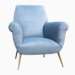 Italienische Sessel von Gigi Radice für Minotti, 1950er, 2er Set