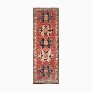Large Hall Kilim Runner Rug, 1970s