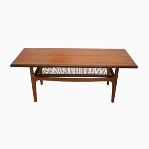 Danish Teak Coffee Table by Trioh Mobler, 1960s