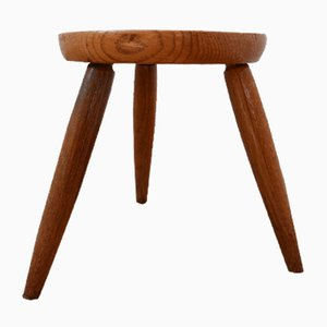 Mid-Century Belgian Stool in the Style of Axel Einar Hjorth, 1950s