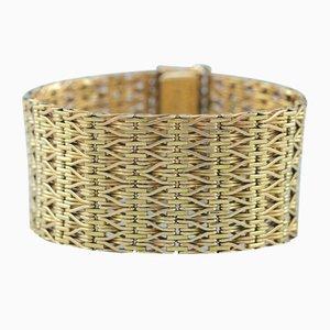 Italian 14 Karat Gold Bracelet, 1960s