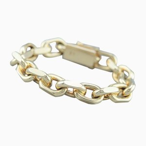 14 Karat Gold Chain Bracelet, 1980s