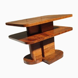 Art Deco Cubist Rosewood Side Table, 1930s