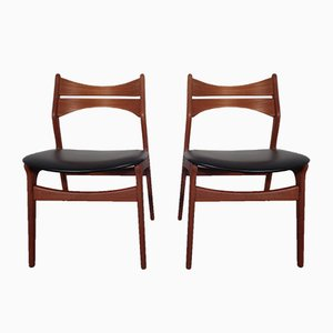 Model 310 Dining Chairs by Erik Buch for Christian Christensen, 1960s, Set of 2