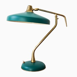 Lampe de Bureau par Oscar Torlasco pour Lumi, 1950s