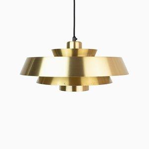 Vintage Danish Nova Pendant Lamp by Johannes Hammerborg for Fog & Mørup, 1960s