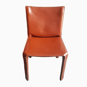 Model CAB 142 Dining Chairs by Mario Bellini for Cassina, 1970s, Set of 4