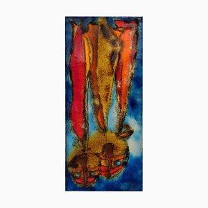 Nr. 768 Segescheife Wandfliese von Ruscha, 1970er