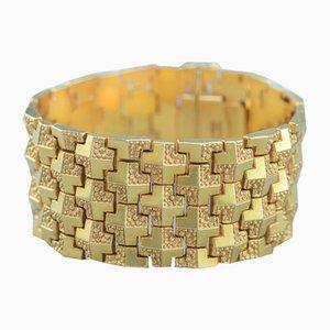 Italian 18 Karat Gold Bracelet, 1960s