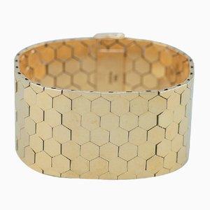 Dänisches 14 Karat Gold Armband, 1960er