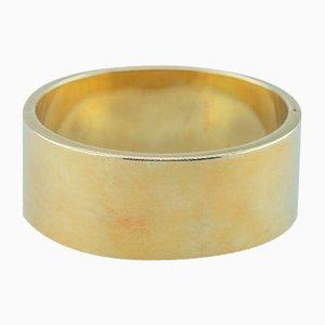 Bracciale in oro giallo 14 carati, anni '70