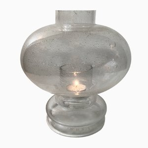Blister Glass Candleholder by Nanny Still for Rihiimäen Lasi Oy, 1970s