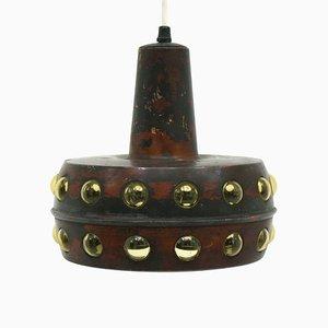Brutalist Pendant Lamp by Nanny Still for Raak, 1960s