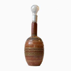 Keramik Tischlampe von Aldo Londi für Bitossi, 1960er