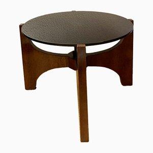 Table Basse Art Déco en Noyer, 1940s