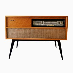 Mid-Century Radio Record Player Cabinet from Vica, 1950s