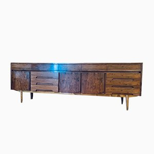 Large Mid-Century Rosewood Sideboard from Olamia Andoain, 1960s