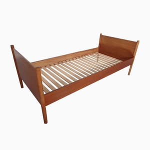 Teak Single Bed by Børge Mogensen for Søborg Møbelfabrik, 1960s