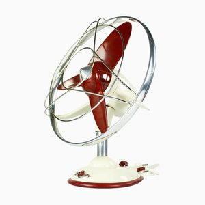Ventilateur de Table Dragonfly Vintage Fan de Table de Paul Linke, 1950s