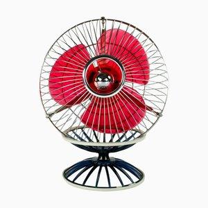 Ventilatore da tavolo modello B-445 vintage giapponese di Hitachi