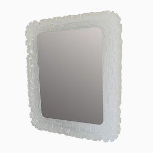 Espejo de pared grande acrílico iluminado, años 60