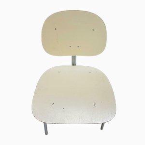 Vintage Röhrenrahmen & Holzstühle von Wim Rietveld für Auping, 2er Set