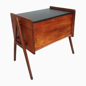 Mid-Century Scandinavian Sewing Box