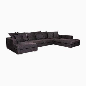 Anthracite Grey Fabric Corner Sofa from BoConcept