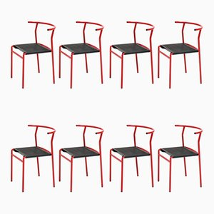 Cafe Chairs by Philippe Starck for Baleri, 1980s, Set of 8