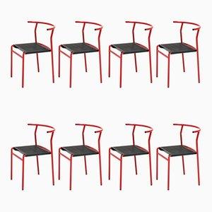 Café Stühle von Philippe Starck für Baleri, 1980er, 8er Set