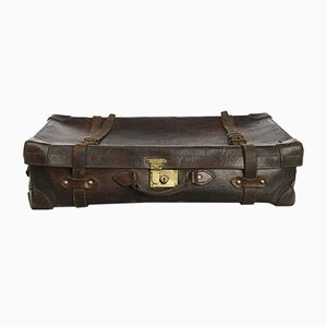 English Leather Suitcase