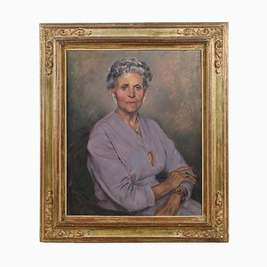 Portrait in Öl gemalt von Max Moreau