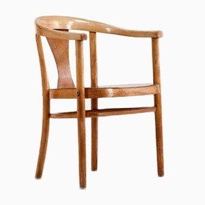 Vintage Bridge Chairs by Magnus Stephensen for Fritz Hansen, Denmark, 1930s, Set of 2