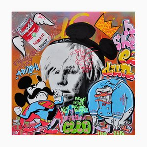 Andy Warhol by Alberto Blanchart, 2018