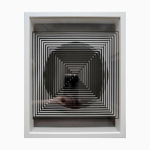 Kinetics 1 von Victor Vasarely, 1973