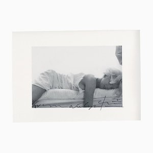 Marilyn Monroe Passed Out on the Bed the Last Sitting by Bert Stern, 2009