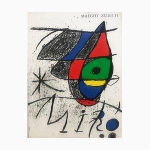 Portafolio Joan Miro Retrospective Maeght Zurich de Alexander Calder, 1972